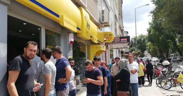 Ankara Çankaya PTT Adliye Sarayı Şubesi Müşteri Hizmetleri